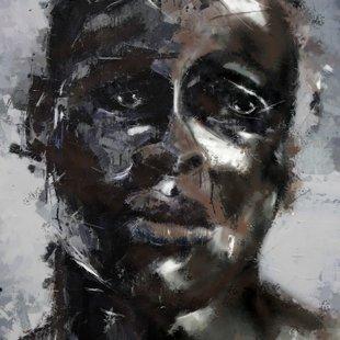 50x70  black boy