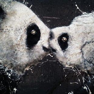 love panda  60x90