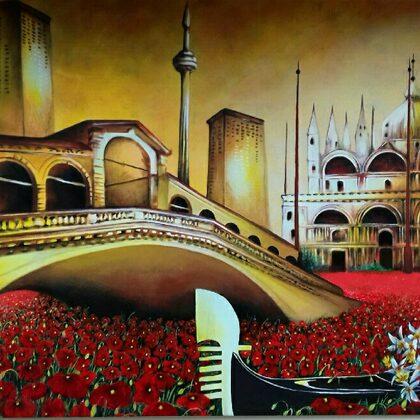 75x115 sogno italiano :Venezia